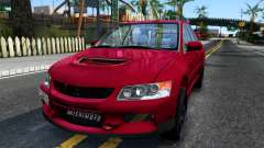 Mitsubishi Lancer Evolution IX for GTA San Andreas