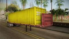 Yellow Trailer Container HD