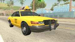 GTA 4 Taxi Car SA Style for GTA San Andreas