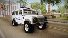Land Rover Defender 110 Police for GTA San Andreas