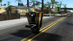 Claptrap From Borderlands for GTA San Andreas