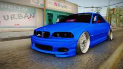 BMW 3 Series E46 Cabrio King for GTA San Andreas