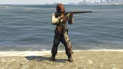 Captain Jack Sparrow 1.0 for GTA 5