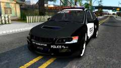 Mitsubishi Lancer Evolution IX Police for GTA San Andreas