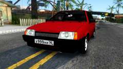 VAZ 2108 Burgundy for GTA San Andreas