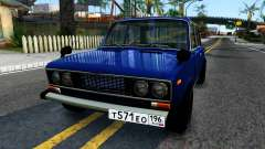 VAZ 2106 blue for GTA San Andreas