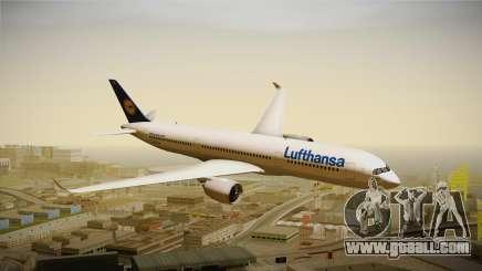 Airbus A350 Lufthansa for GTA San Andreas