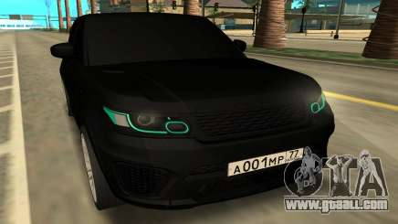 Land Rover Range Rover Sport SVR for GTA San Andreas