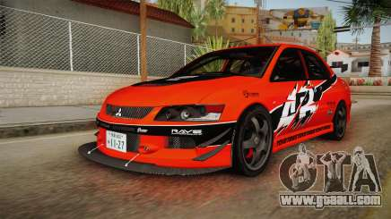 Mitsubishi Lancer Evolution IX MR Tokyo Drift for GTA San Andreas