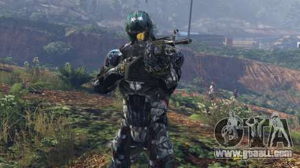 Crysis 2 Nanosuit Re-Texture N7 for GTA 5
