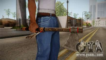 Dead Rising 2 - Tomahawk for GTA San Andreas