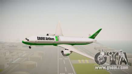 Boeing 787 Grove Airlines for GTA San Andreas