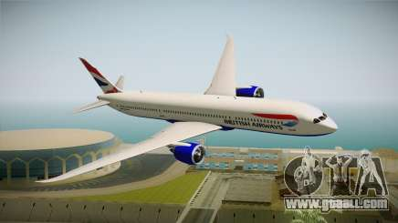 Boeing 787 British Airways for GTA San Andreas