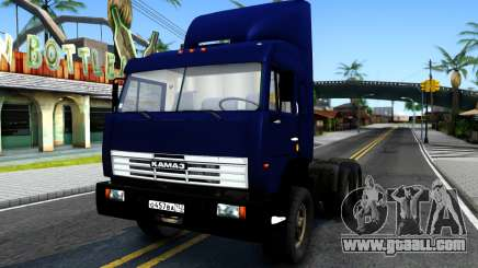 KamAZ 54115 Blue for GTA San Andreas