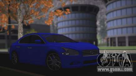 Nissan Maxima blue for GTA San Andreas