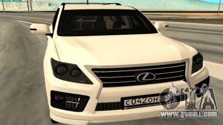 Lexus LX570 AG Armored for GTA San Andreas