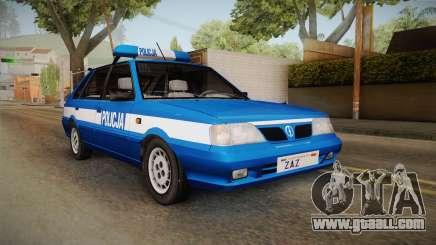 Daewoo-FSO Polonez Caro Plus Policja 1.6 GLi for GTA San Andreas