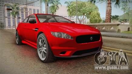 GTA 5 Ocelot Jackal 2-doors for GTA San Andreas
