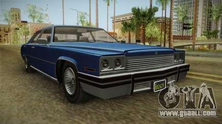 GTA 5 Albany Manana 4-doors IVF for GTA San Andreas