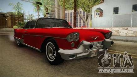 Cadillac Eldorado Brougham 1957 HQLM for GTA San Andreas