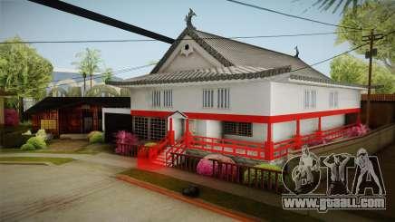 Japanese Castle CJ House for GTA San Andreas