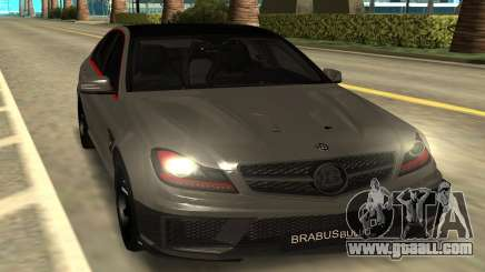 Brabus Bullit Coupe 800 for GTA San Andreas