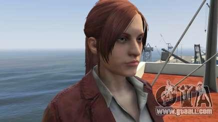 Claire Redfield from Resident Evil: Revelation 2 for GTA 5