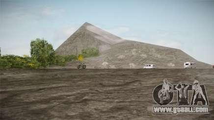Mount Chiliad Retexture for GTA San Andreas