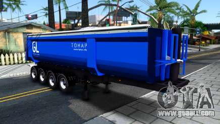 The Tipper Trailer Tonar for GTA San Andreas