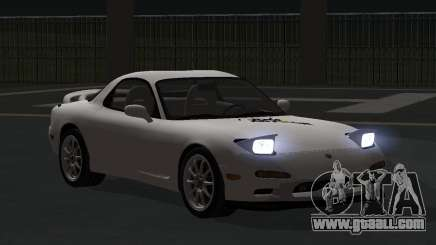 Mazda RX-7 1991 RUS for GTA San Andreas