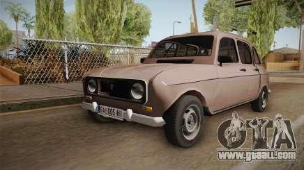 Renault 4 Yugoslav for GTA San Andreas
