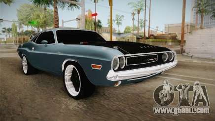 Dodge Challenger MM 1970 for GTA San Andreas