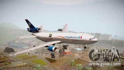 McDonnell-Douglas DC-10 Aeromexico for GTA San Andreas