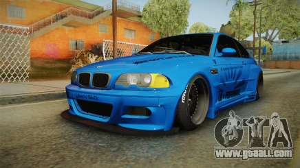 BMW M3 E46 Liberty Walk for GTA San Andreas