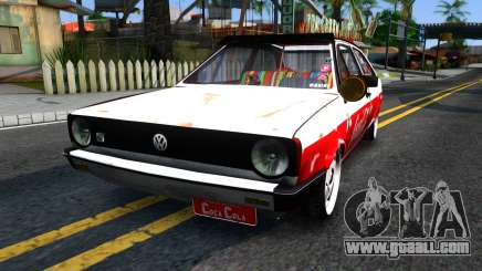 Volkswagen Gol Coca-Cola for GTA San Andreas