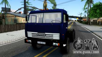 KamAZ 54115 Tractor Blue for GTA San Andreas