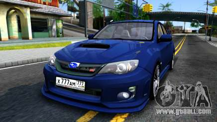 Subaru Impreza WRX STI Sedan 2011 for GTA San Andreas