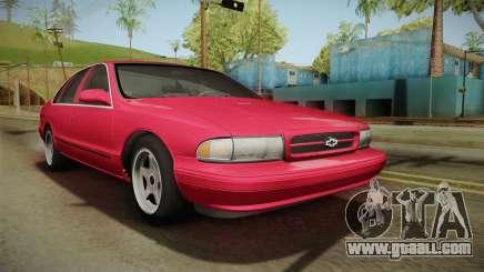 Chevrolet Impala SS 1996 for GTA San Andreas
