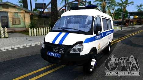 Gazelle 2705 The Police for GTA San Andreas