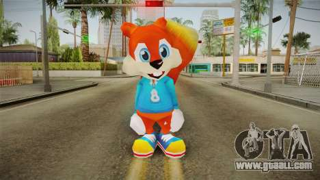 BFD - Conker for GTA San Andreas second screenshot