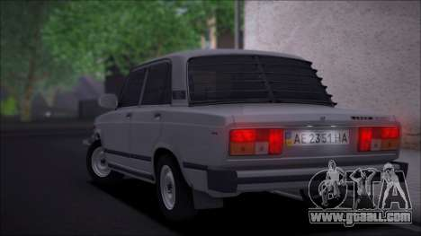 VAZ 2105 Quality for GTA San Andreas back left view