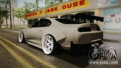 Toyota Supra Widebody for GTA San Andreas