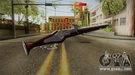 Wheel Lock Pistol 2.0 Fixed High Quality for GTA San Andreas second screenshot