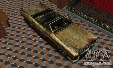 Chevrolet Impala 1959 for GTA San Andreas back left view
