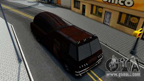 Bus of Future for GTA San Andreas right view