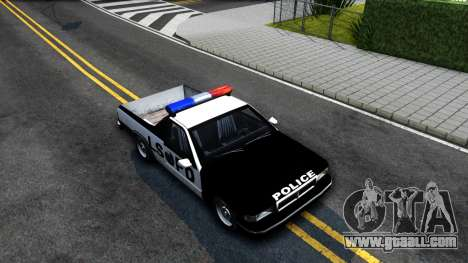 New Police Car for GTA San Andreas right view