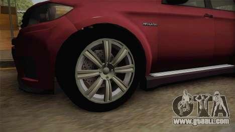 GTA 5 Bravado Gresley for GTA San Andreas back view