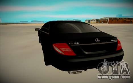 Mercedes-Benz S63 AMG for GTA San Andreas right view