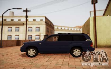 Lexus LX470 for GTA San Andreas left view