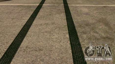 New tire tracks for GTA San Andreas third screenshot